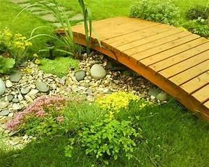 Petit Pont En Bois : pont decoration jardin nouvel essence ~ Melissatoandfro.com Idées de Décoration