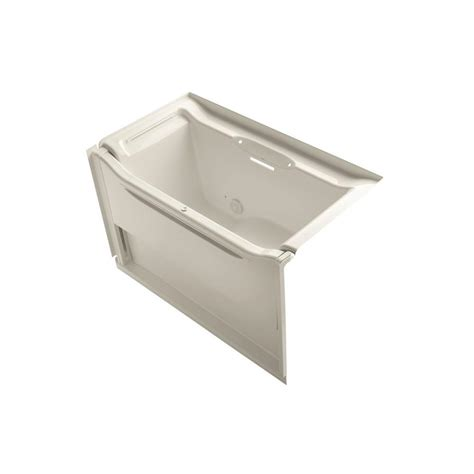 Kohler Villager Bathtub Specs by Kohler Villager 5 Ft Left Drain Integral Apron Cast