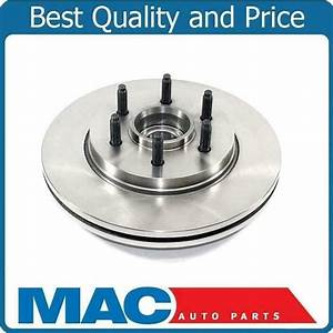 One New Front Hub Wheel Bearing Rotor For Ford F150 2 Wheel Drive 6 Stud 04