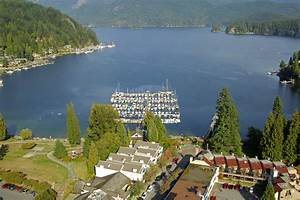 Deep Cove Yacht Club In North Vancouver BC Canada