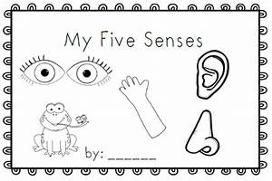 senses coloring pages - mrs black 39 s bees my five senses emergent reader