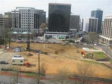 Time lapse of construction site - YouTube