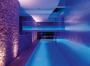 Indoor pool lighting interior design ideas for Indoor swimming pool lighting