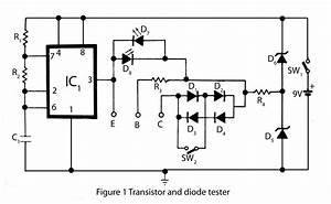 Transistor And Diode Tester  U2013 Electronics Project