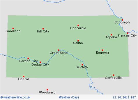 overview kansas forecast maps weather forecast