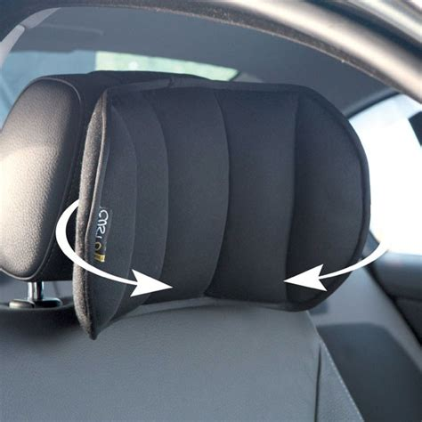 cale tete ergonomique ajustable siège automobile