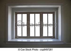Fensterrahmen Abdichten Innen : stock fotografie von fenster rahmen innen fenster ~ Lizthompson.info Haus und Dekorationen
