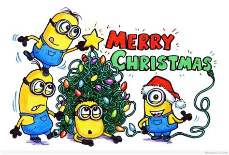 Funny Minions Christmas 033900 Am Friday 11 December