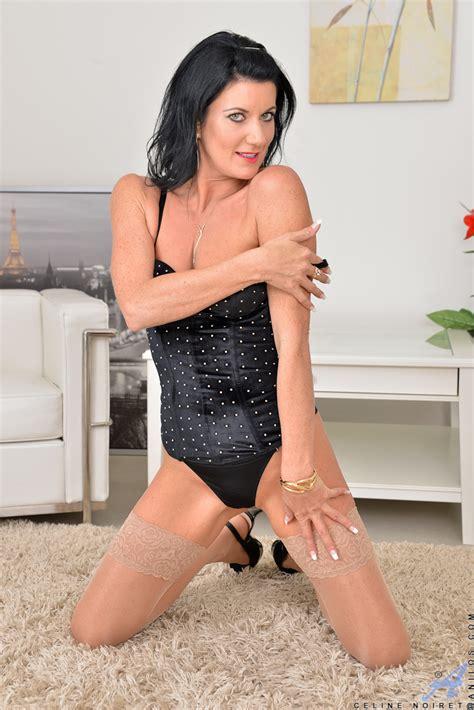 Horny Milf Celine Noiret In Lingerie Glamour Seduction