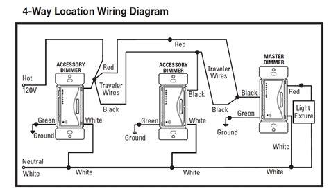 lutron maestro 4 way dimmer wiring diagram 42 wiring