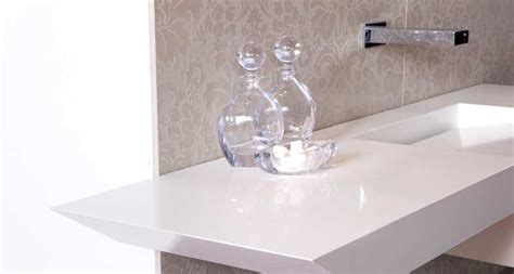 pure white caesarstone miami circle marble fabrication