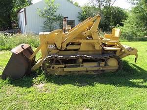 1958 John Deere 440 Industrial Gas Crawler Loader