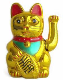 lucky cat statue lucky cat statue at fengshui import