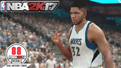 NBA 2K17 Rating Karl Anthony Towns