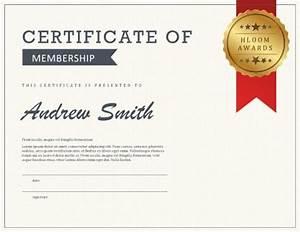5 certificate of membership templates free download With life membership certificate templates