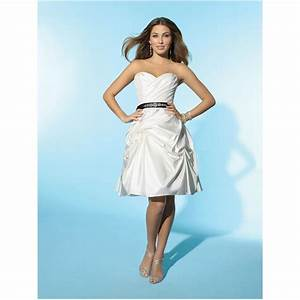 casual wedding dresses strapless sweetheart ruffles With funky dresses for weddings