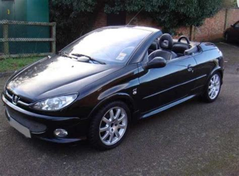 Peugeot Convertible by Peugeot 206 Cc 1 6 Convertible 2006 56 Low Mileage Outside