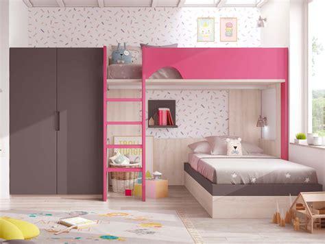 lit superpose chambre chambre fille avec lit superpose paihhi