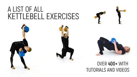 exercises list kettlebell tutorials cavemantraining