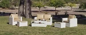 Salon De Jardin Beige : salon de jardin r sine tuscan nautic 6 places avec coussins coloris beige meubles de jardin ~ Teatrodelosmanantiales.com Idées de Décoration