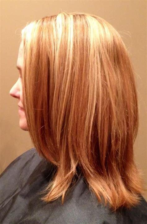 blonde highlights  natural strawberry blonde hair hair