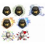 Sheet Armor Effect Icons Xbox Halo Reach