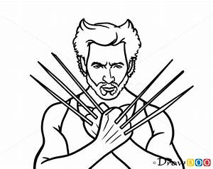 How To Draw Wolverine Superheroes