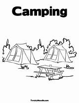 Camping Coloring Pages Dream Colouring Camp Camper Campers Activities Printable Read Storytime Trailers Sheets Rainy Theme Way Campfire Games Children sketch template