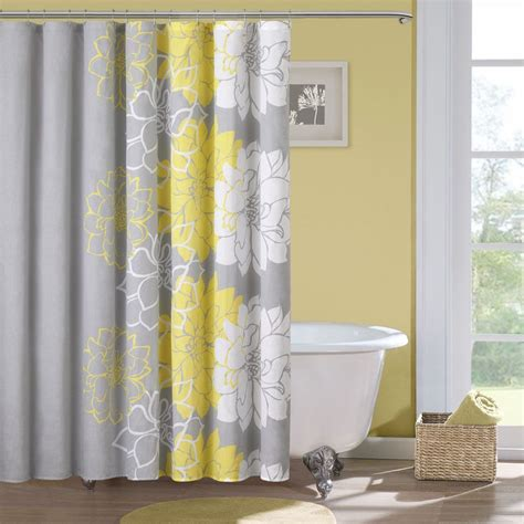 overstock shower curtains park sateen printed shower curtain