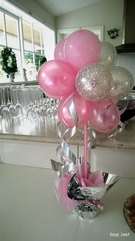 pink and white balloon decorations 25 best ideas about balloon centerpieces on