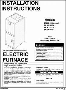 Icp Ef08b1500a1 User Manual Air Handler Manuals And Guides