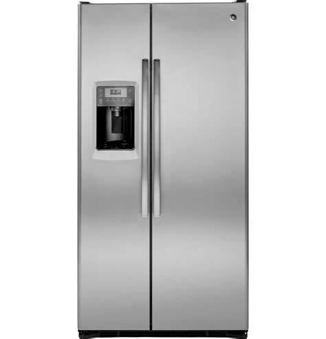 ge profile series  cu ft counter depth side  side refrigerator pzsksess ge appliances
