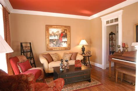 French Country Living - Traditional - Living Room