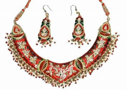 Indian Jewellery Necklace Lac Necklaces India Earrings