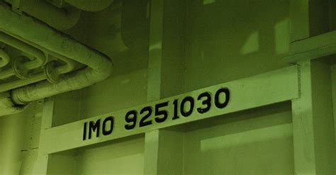 Ship Imo Number by So What Is An Imo Number Anyway Gcaptain Maritime