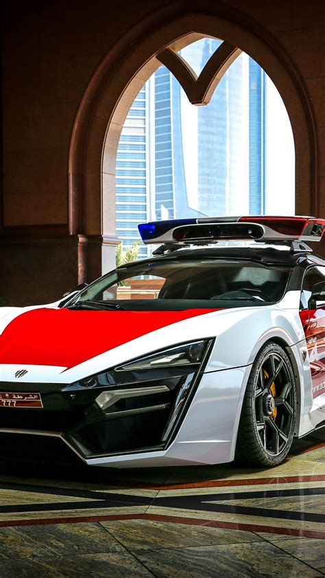 wallpaper lykan hypersport police car abu dhabi