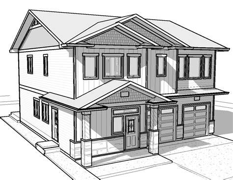 modern house drawings masimes