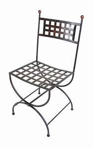 Chaise En Fer Forgé : chaise en fer forg lacoste mobilier en fer forg aix ~ Dode.kayakingforconservation.com Idées de Décoration