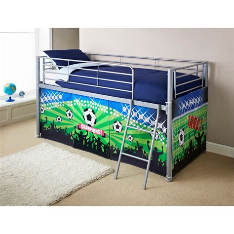 midsleeper bed football bedroom furniture b m stores