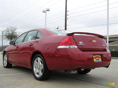 2008 Red Jewel Tintcoat Chevrolet Impala Ss #2242900 Photo