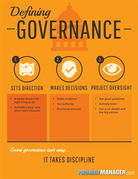 what does project governance really projectmanager