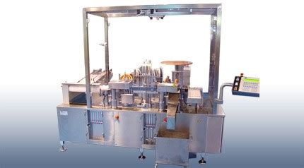 rota models rrr ampoule filler sealing machine pmr packaging