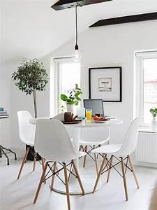 la salle a manger scandinave en 67 photos archzinefr With salle À manger contemporaine avec deco esprit scandinave