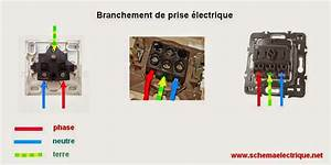 phase et neutre couleur 5 schema electrique branchement With code couleur phase neutre
