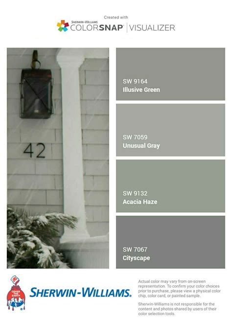 i just created this color palette with the sherwin