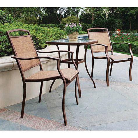 mainstays sand dune 3 outdoor bistro set seats 2