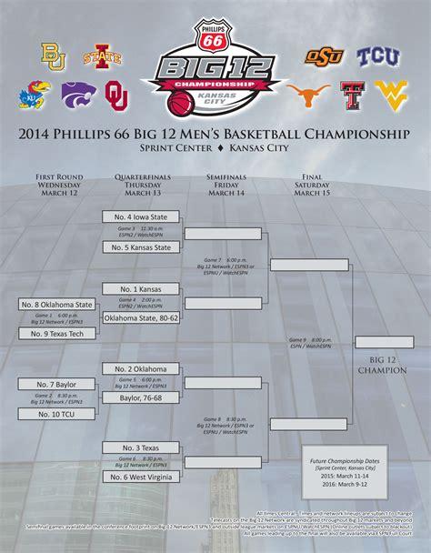 mens basketball big  tournament schedule updated