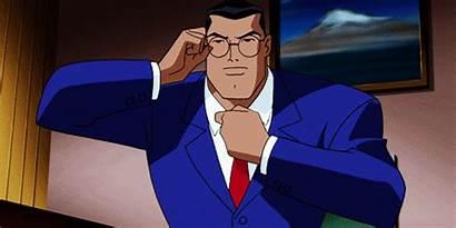 Clark Kent Superman Animated Superhero Identity Cartoon