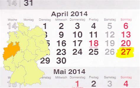 Verkaufsoffener Sonntag Am 27042014 In Nordrhein