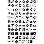 Font Symbols Dingbat Specimen Fonts Dingbats Icon